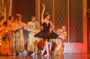 Swan Lake, Odile and the Princesses