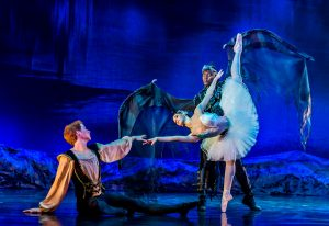 Swan lake, Prince, Odette, and Von Rothbart